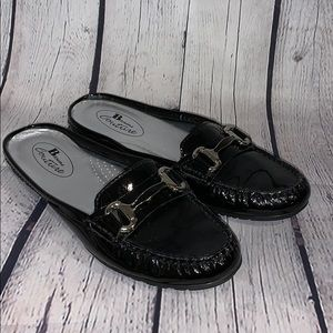 Browns Couture Black Patent Flats Size 8